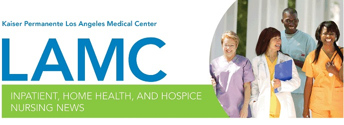 LAMC Nursing News header